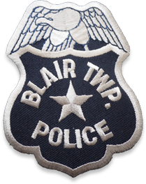 Blair Township Police Badge