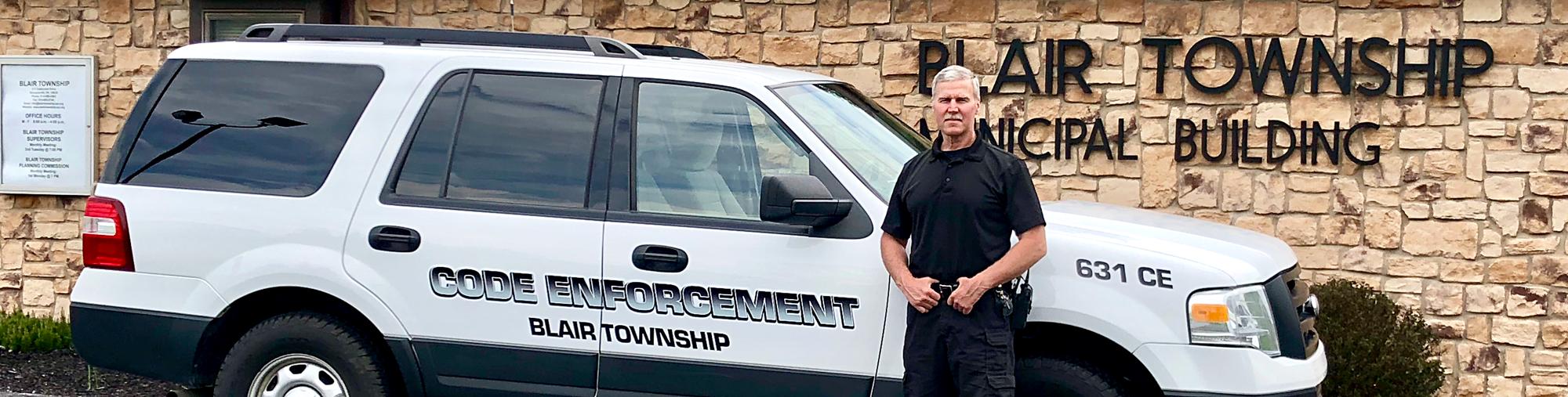 Code Enforcement Ordinances Blair Township